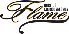 Hius- ja kauneuskeskus Flame, Kalajoki Logo